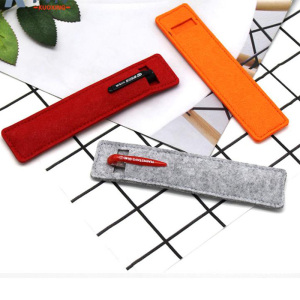 High-Quality custom shape Mini felt pen bag