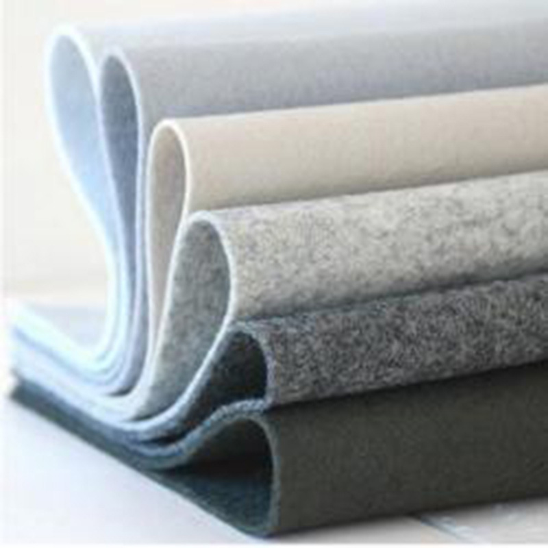 nonwoven fabric 3mm 4mm 5mm thick 100% wool felt of needle punched