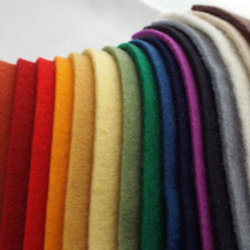 factory nonwoven fabric 3mm 5mm thick 100% wool felt of needle punched