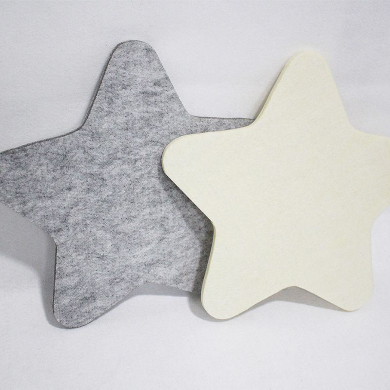 OEM factory custom felt drink coasters