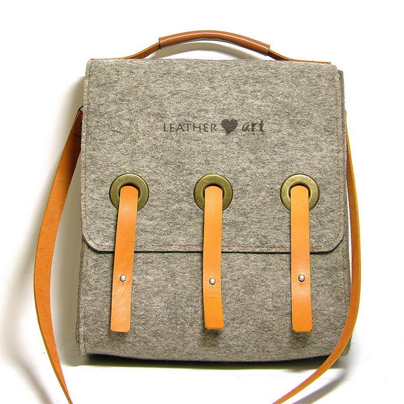 Fashion sport Felt shoulder bag Messenger Bag for outdoor