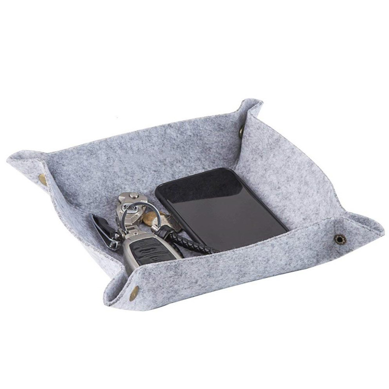 Wholesale Modern Custom Felt Storage Tray