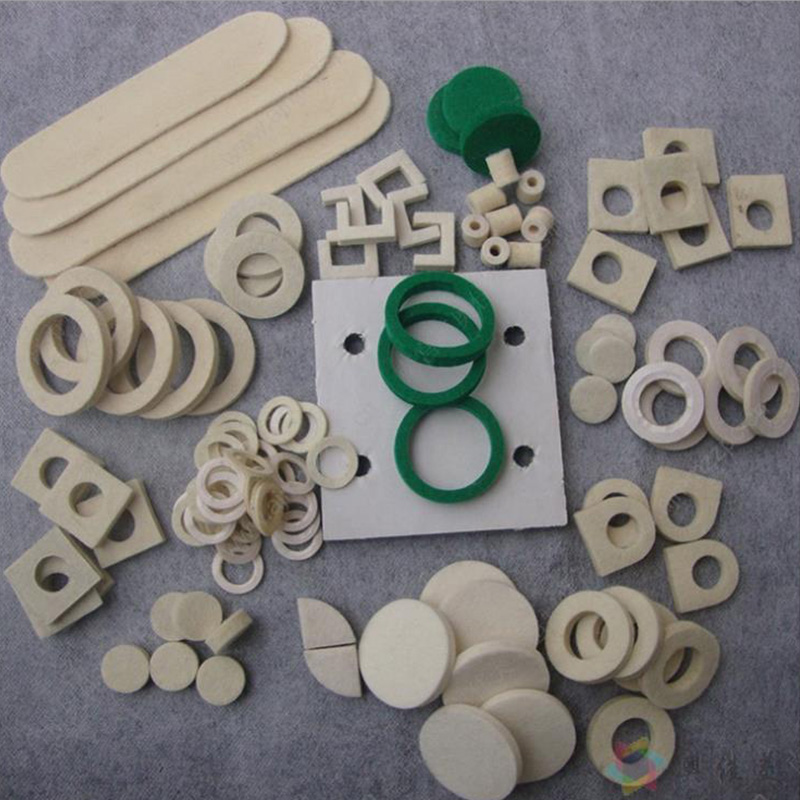 Factory direct price felt seal washer/100% wool felt gasket