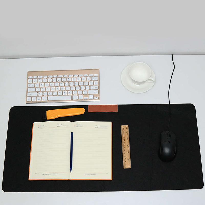Wholesale Fashion Simple Multicolor Custom Logo Felt Mouse Pad