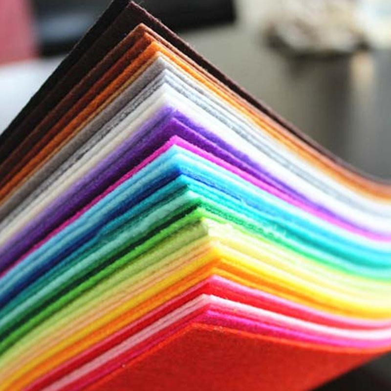 Best quality Color Blend Felt 50% Wool felt
