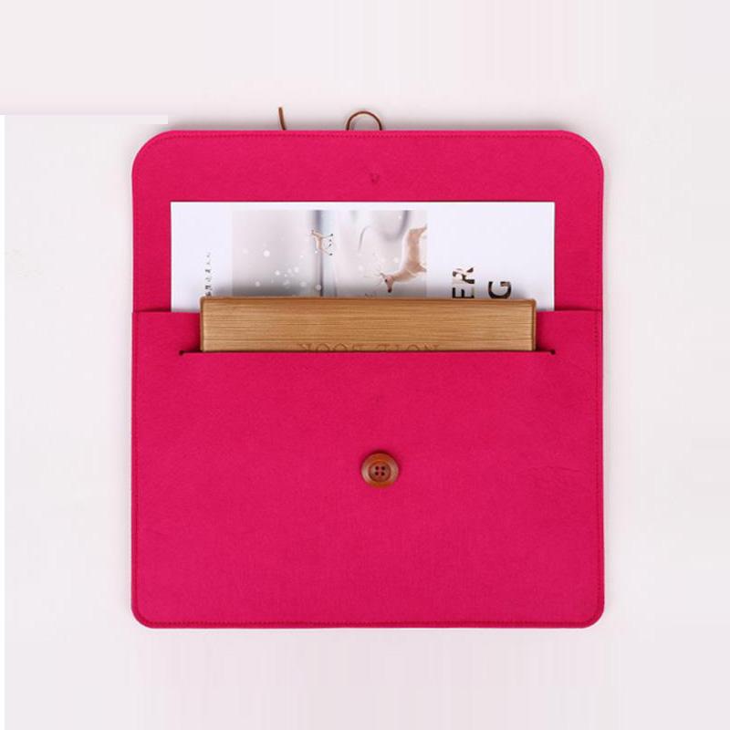 Factory supply Cheap Customized design Felt File Bag