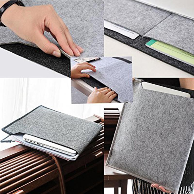 Felt long padded mouse pad game computer desk mat desktop keyboard hand care non-slip hand pad