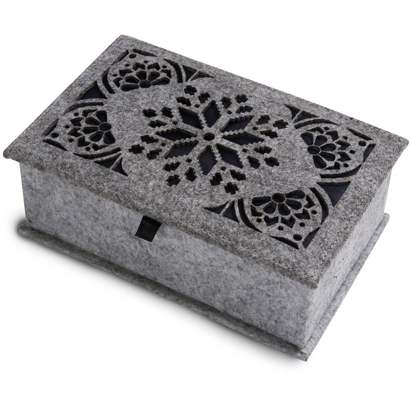 Good Quality promotion cute sundries felt storage box