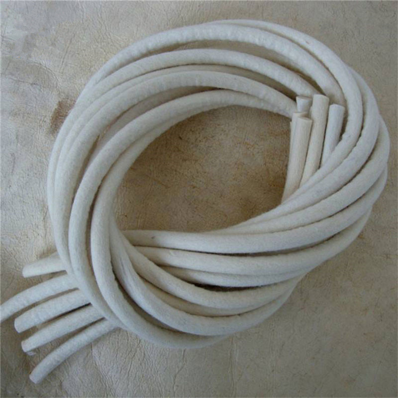 High Quality Customized Industrial Wool Felt Rope