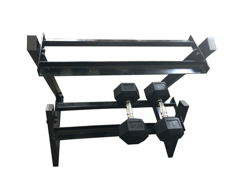 Gym commercial dumbbell rack