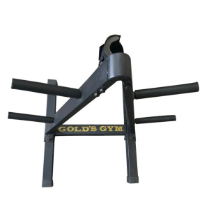 Triangle dumbbell rack