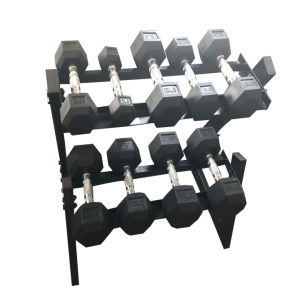 Gym multi-layer dumbbell placement rack