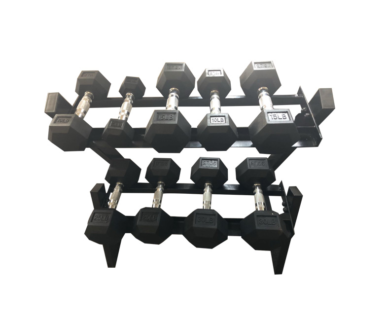 Dumbbell storage rack