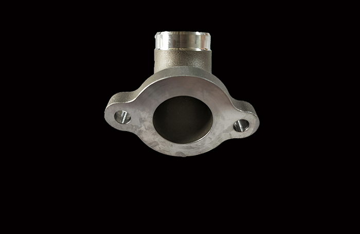 Investment Casting Car Flange Elbow Part