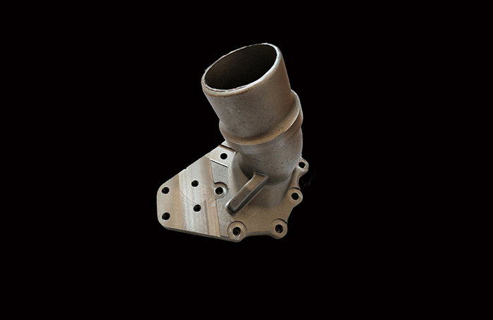 Iron Casting Car Pipe Component