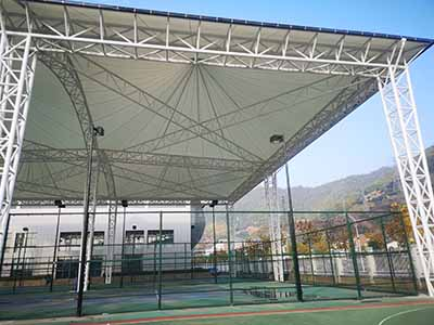 Tension Membrane Of PTFE Roof