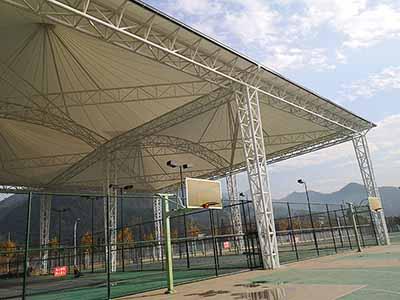 Membrane de tension du toit PTFE