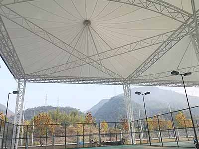 Tension Membrane Of PTFE Roof.jpg