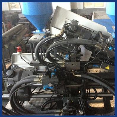 110Ton Mix Color Injection Molding Machine