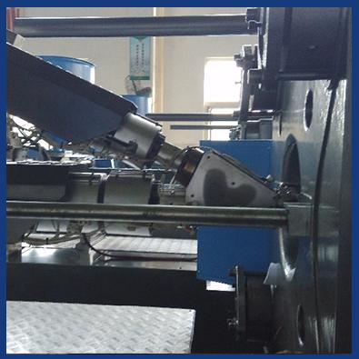 Plastic injection 2 color mould machine