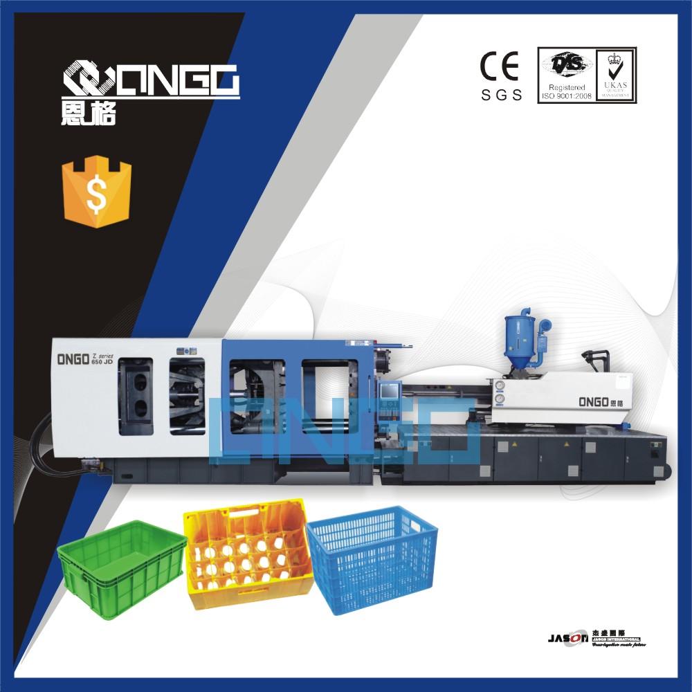 Plastic boxes production machine