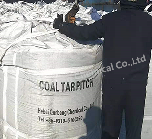 Low-temperature coal tar pitch
