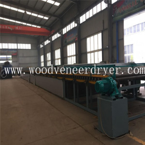 Birch Wood Veneer Drying Machine