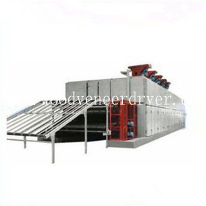 20m 2 Deck Face Plywood Veneer Drying Machine