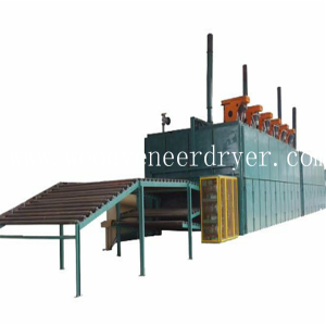 24m 3 Deck Roller Veneer Drying Line