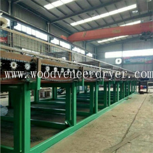 High Efficiency 60m Roller Veneer Dryer Produciton Line
