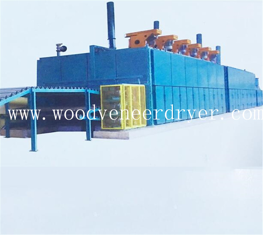 Rubber Wood Veneer Drying Machine