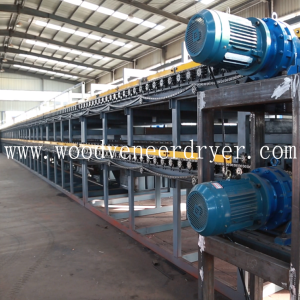 Continous Veneer Dryer untuk Plywood Mill