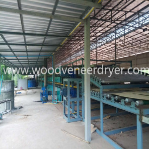 Industri Biomassa Karet Kayu Chip Dryer Dijual