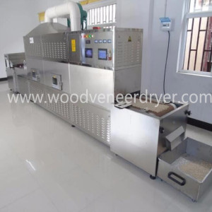 Sertifikasi CE Nuts Tunnel Microwave Dryer