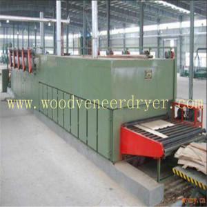 Heat Conduction Oil Type Roller Veneer Dryer
