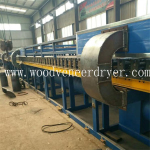 Built-in Burner Roller Wood Chips Drying Machine
