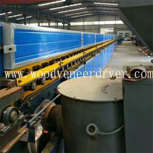 Steam Heating Roller Plywood Veneer Drying Machine
