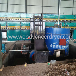 Acacia  Veneer Drying Machine for Woodworking Process