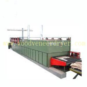 Heat Conducting Oil Heating Roller Veneer Dryer