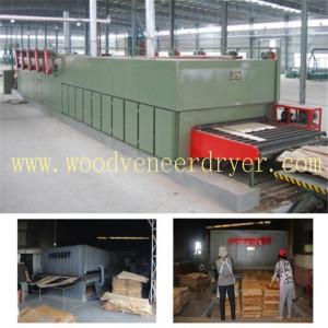 Eucalyptus Veneer Drying Line in Vietnam
