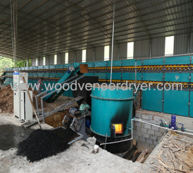 Biomass Veneer Dryer for Plywood Production Machines
