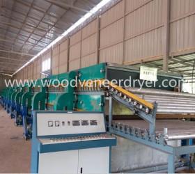Wood Veneer Dryer Machine For Plywood Production Line