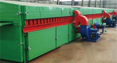 Wood Veneer Dryer Machine