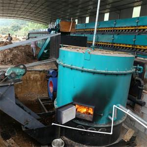 2 Deck Built-in Furnace Veneer Drying