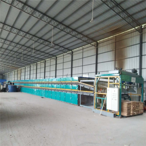 3 Deck Roller Veneer Dryer Machine