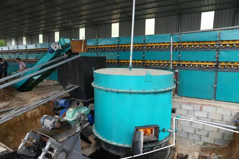 Biomass Burner for Veneer Dryer