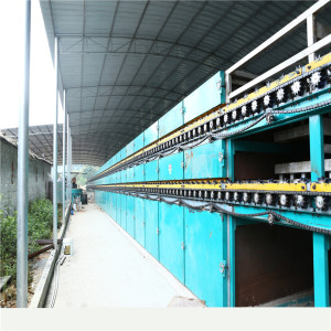 Big Capacity 3 Layer Roller Veneer Drying Machine