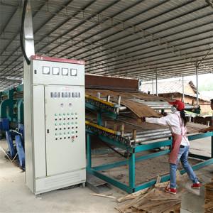 Roller Veneer Dryer Line For Vietham