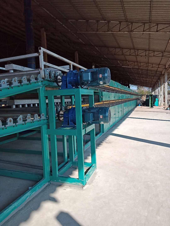 56m2deck veneer dryer in Cambodia Installation Site