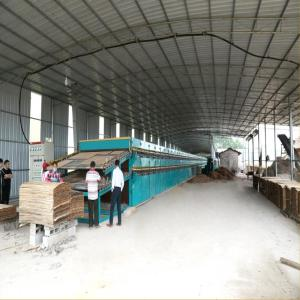 Veneer Dryer For Drying Peeling Wood